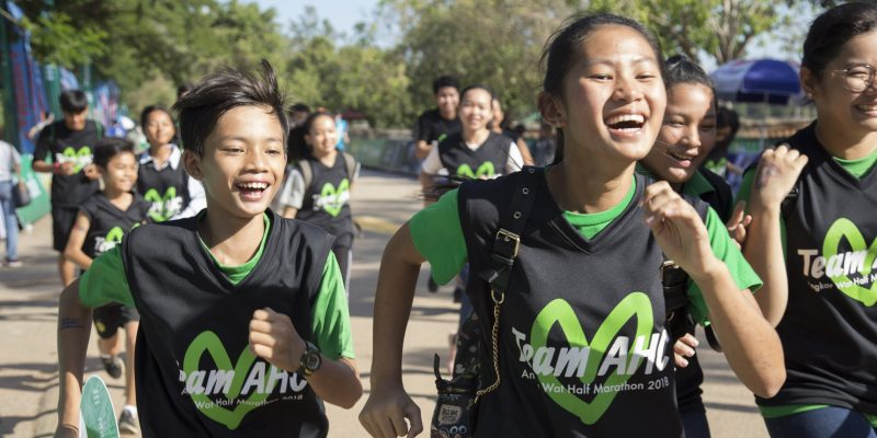 AHC at Angkor Wat International Half Marathon