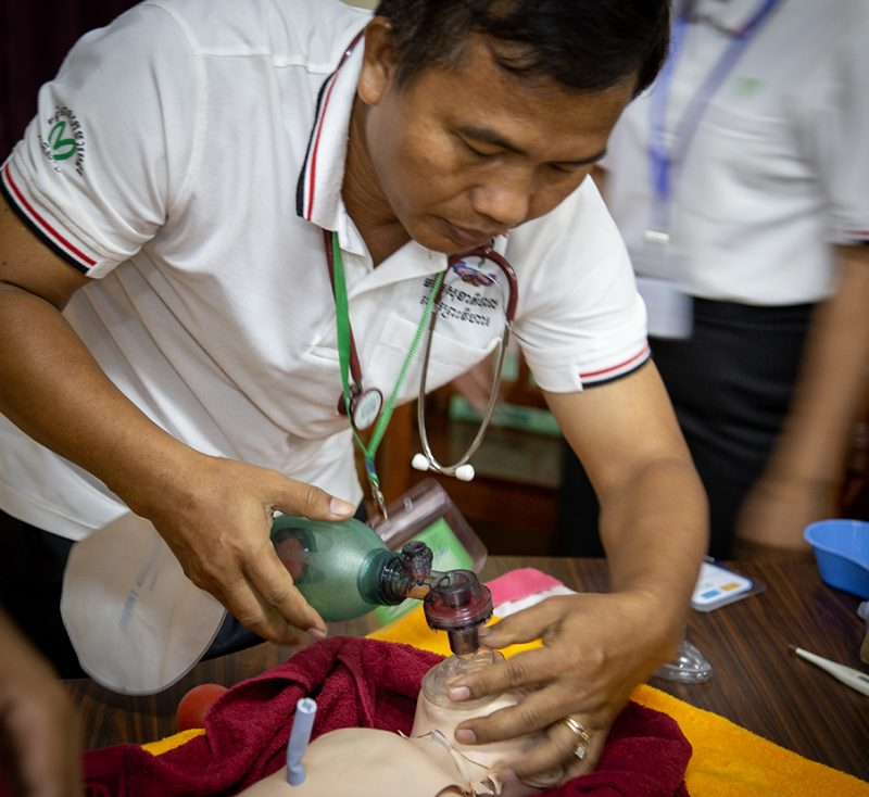 Advanced Paediatric Life Support Training at AHC